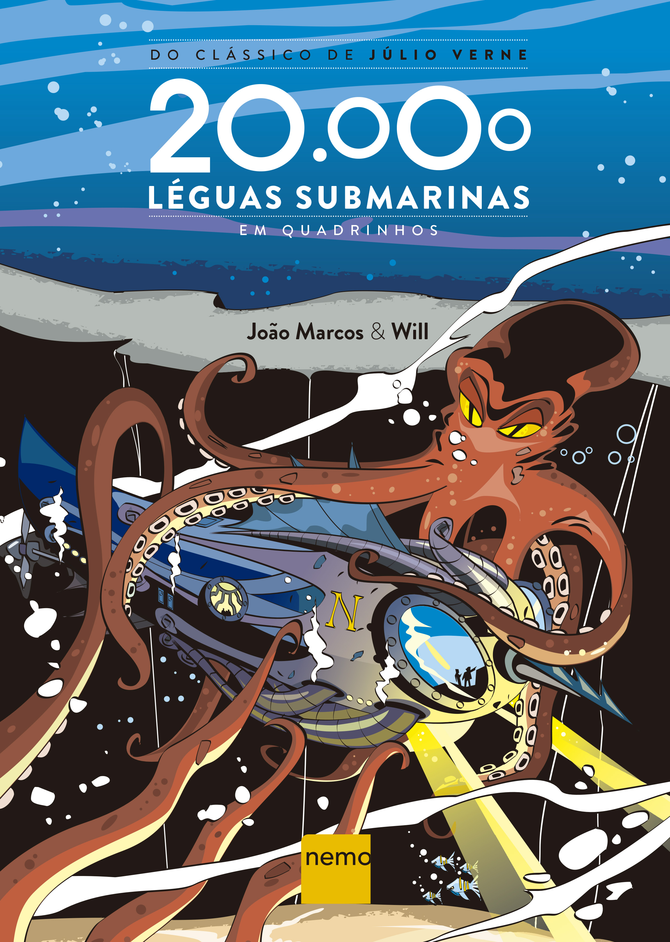 20.000 LEAGUES UNDER THE SEA – COMICS (HQ)