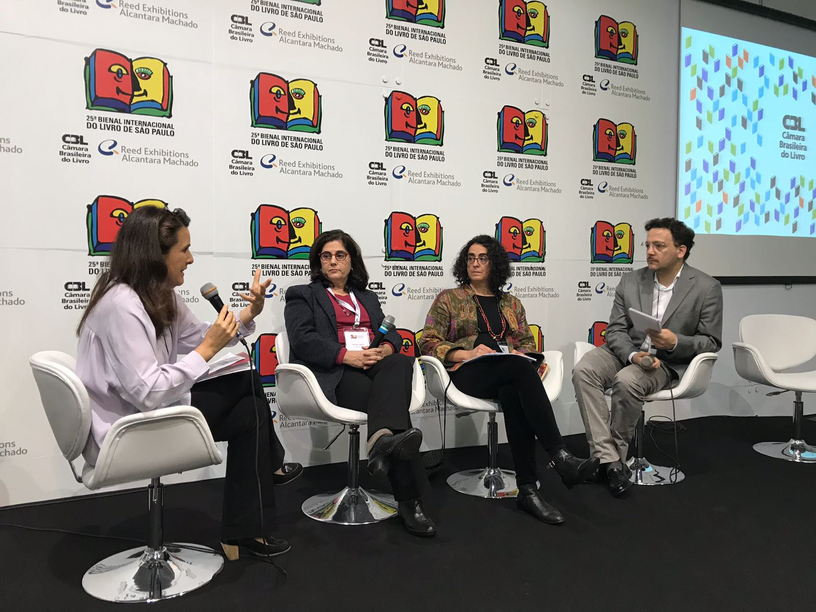 25ª Bienal Internacional do Livro de São Paulo: editoras e autores debatem integração da América Latina