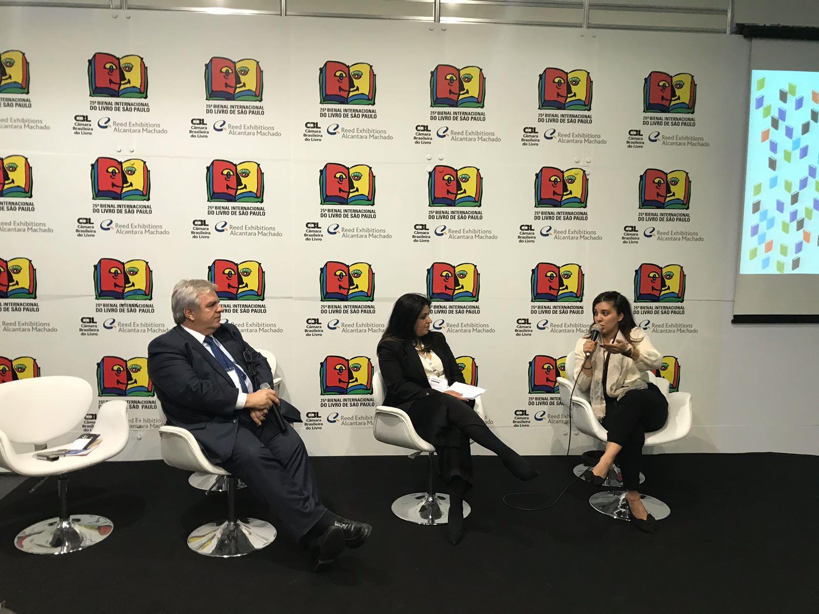 25ª Bienal Internacional do Livro de São Paulo sedia discussões sobre mercado editorial árabe e internacionalização das editoras independentes