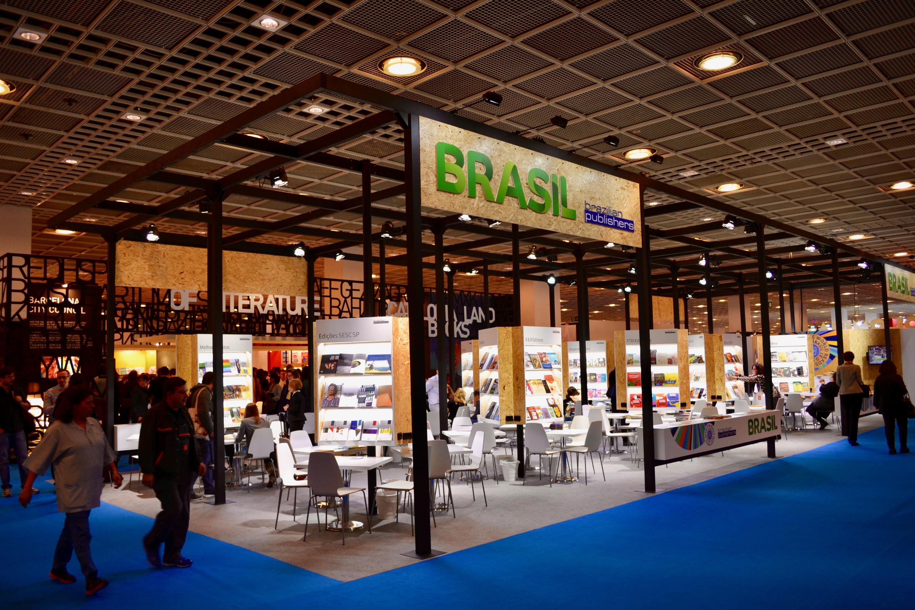 Feira de Frankfurt 2018 conta com a participação de 27 editoras brasileiras