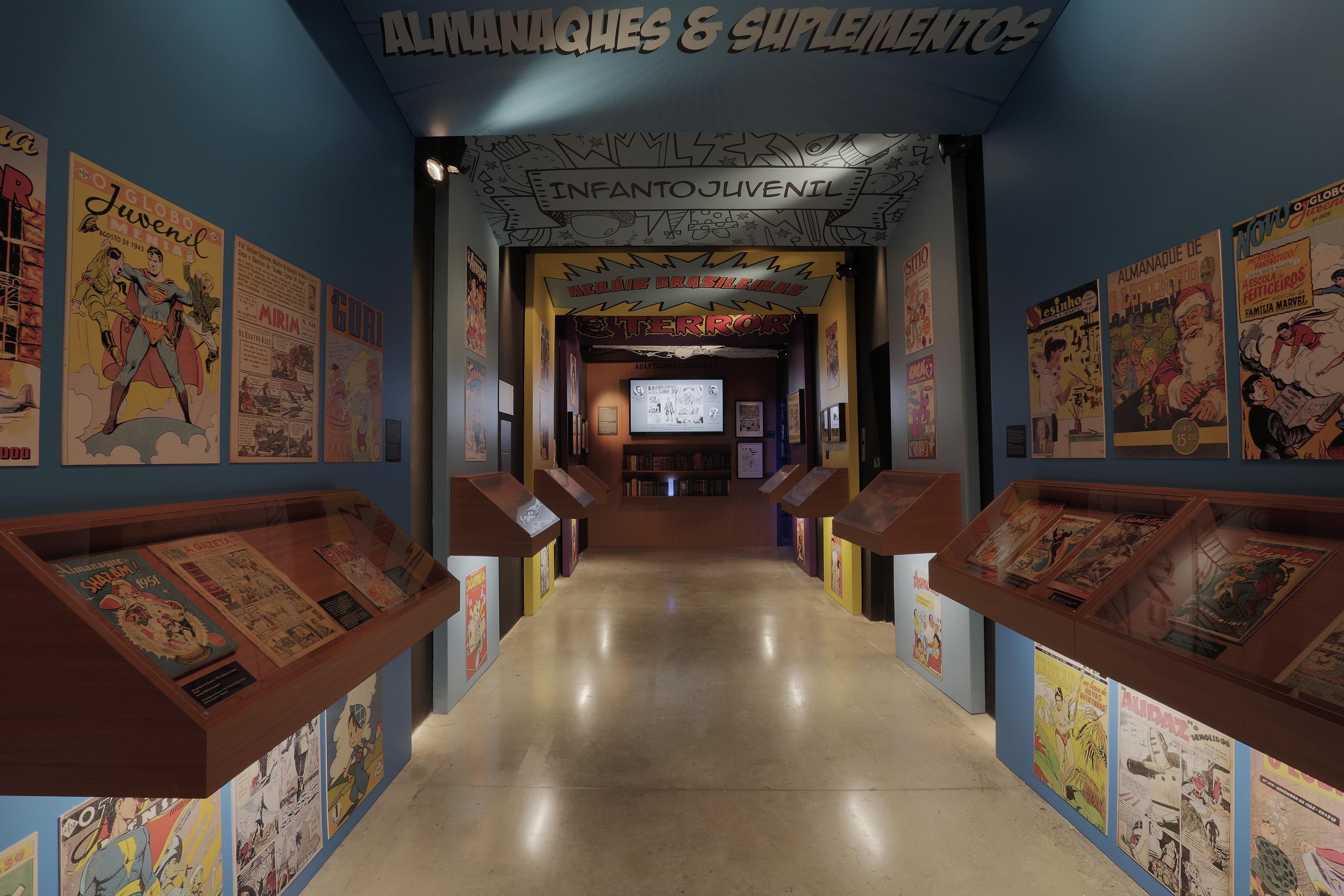 Museu da Imagem e do Som apresenta exposição com panorama histórico dos quadrinhos