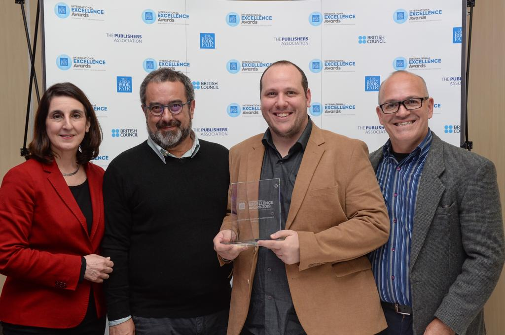 Editora brasileira Ed5 vence International Excellence Awards 2019
