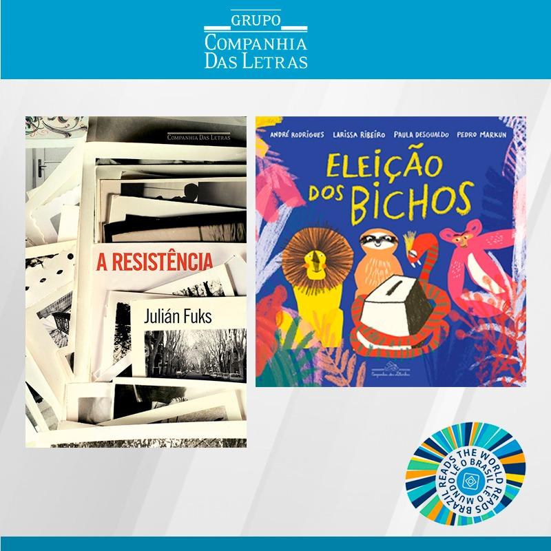 Títulos da Companhia das Letras são publicados na Itália e em Portugal