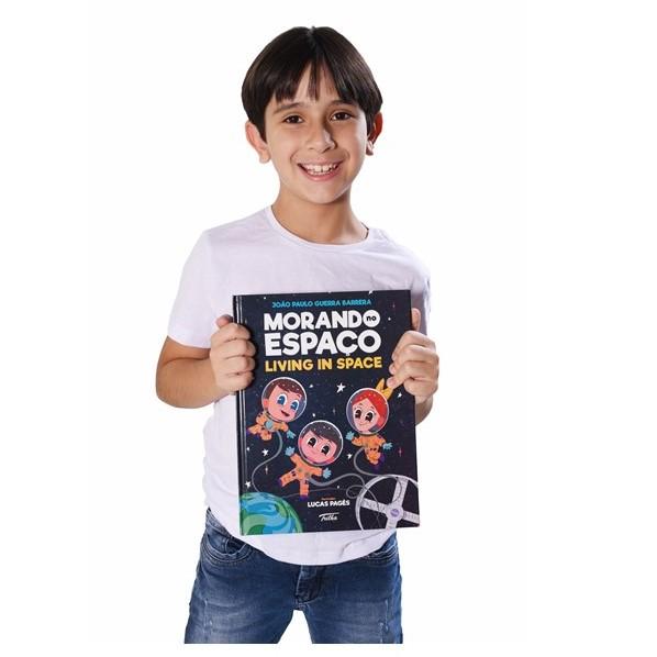 Autor brasileño de ocho años es invitado por la ONU para hablar sobre sus libros
