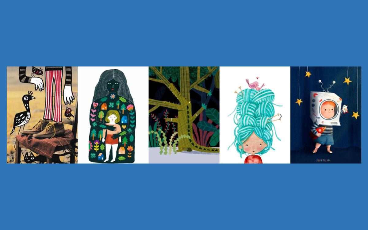 Illustrators Virtual Wall