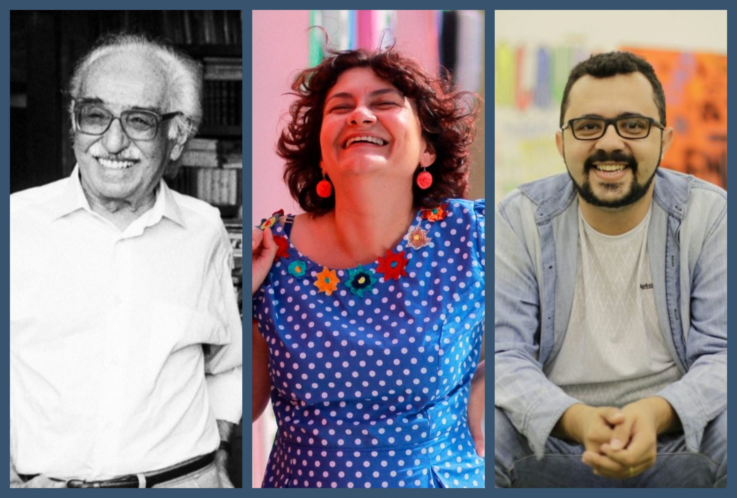 Manoel de Barros, Cida Pedrosa e Mailson Furtado